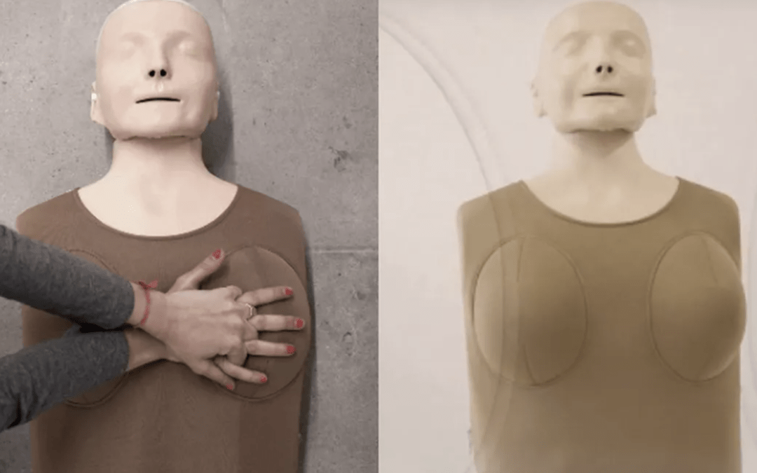 New CPR Training Tool Has Breasts And This Is Why It Matters To Women