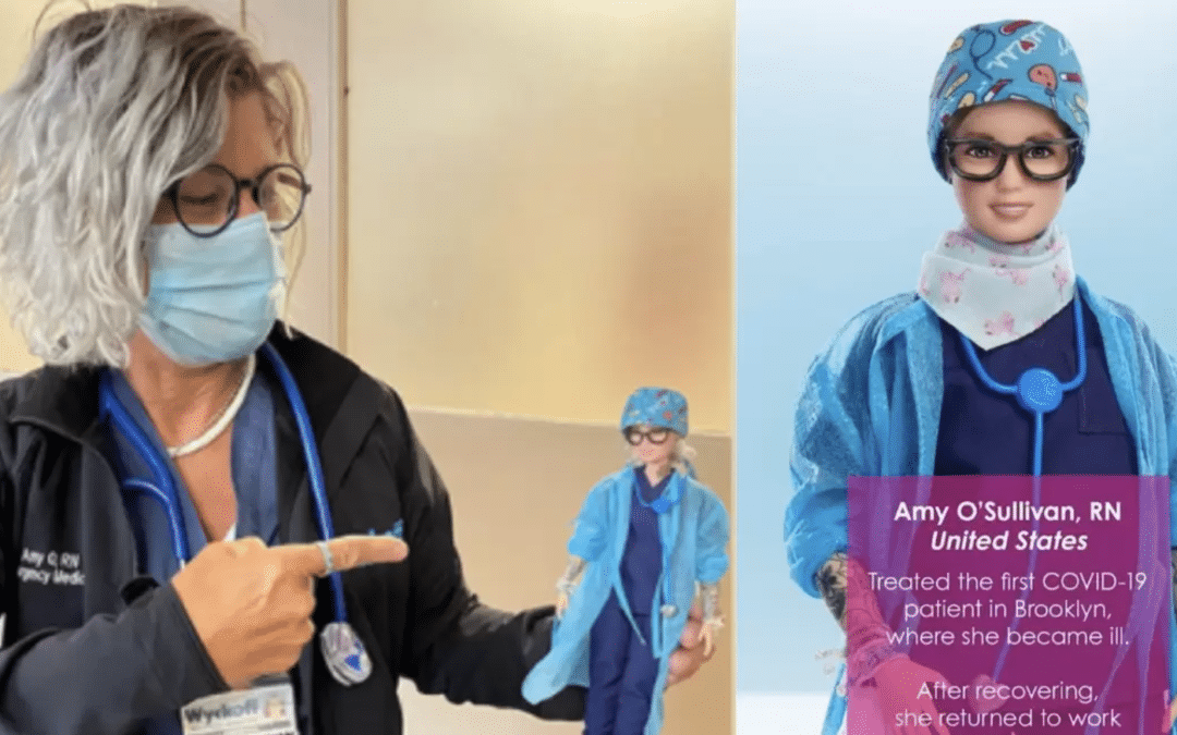 Barbie Creates Nurse Doll Inspired By Amy O'Sullivan